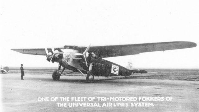 Fokker America F.10