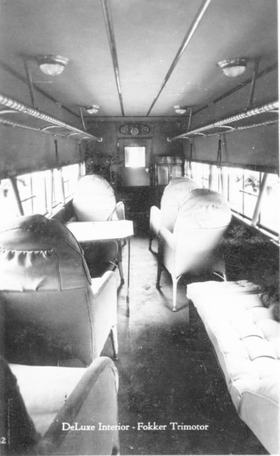 Fokker America F.10 Deluxe Interior