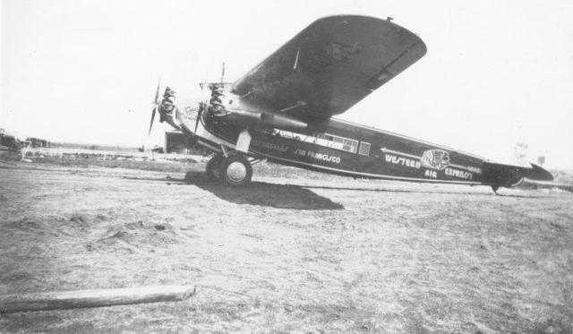 Fokker America F.10 Western Air Express