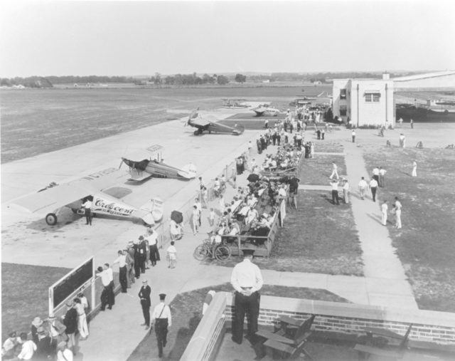 Ryan B.1 NC7202 Crescent Air Service Louisville Airport KY 1935