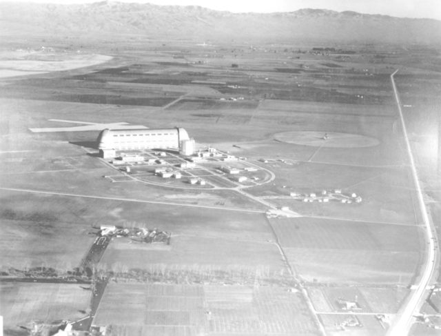 NAS Sunnyvale, Mt View (aerial) ARC-1936-A93-0073-8
