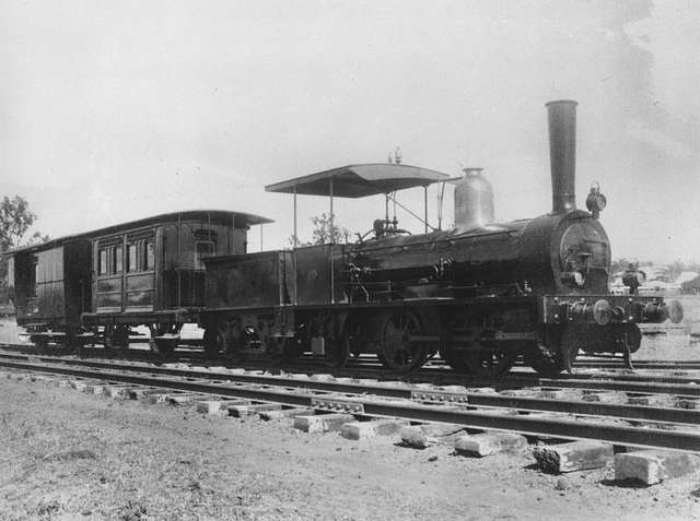 A.10 locomotive on display for the Railway Pageant at Ipswich, 1936 (4731334903)