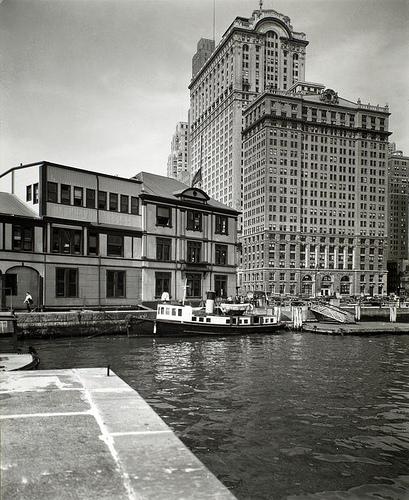 Battery, foot of West Street, Manhattan.