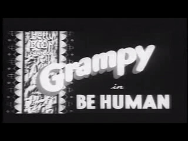 Betty Boop - Be Human (1936)