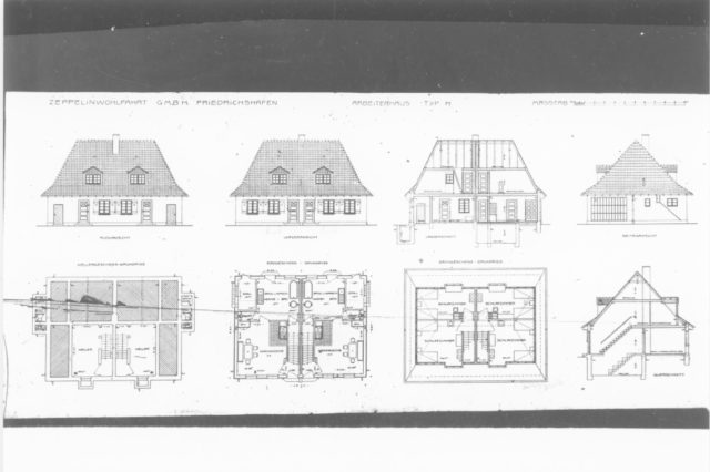 designs for workers housing 1916-1938