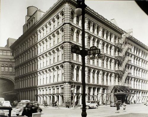 John Wanamakers's, Fourth Avenue and 9th Street, Manhattan.