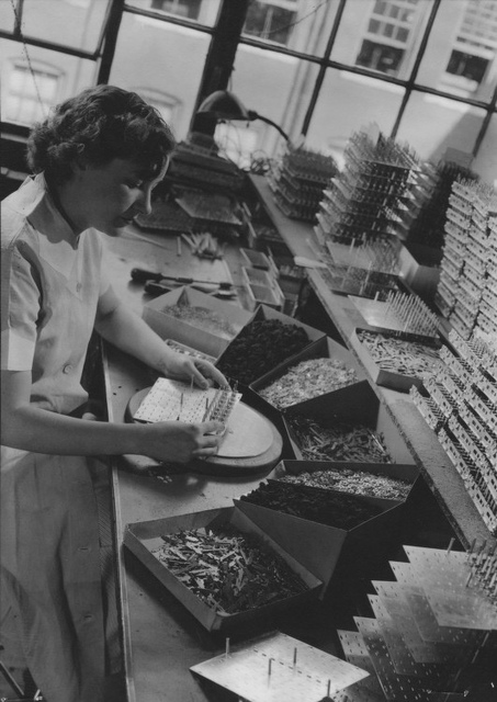 [Woman working, Monroe Calculating Machine Company]