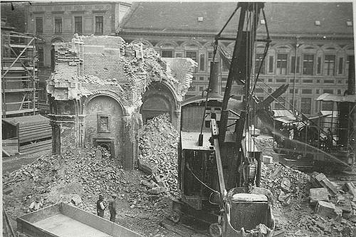Munich Synagogue; Destroyed