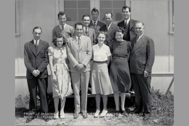 April 9, 1940 Ames personnel ARC-1969-M-308