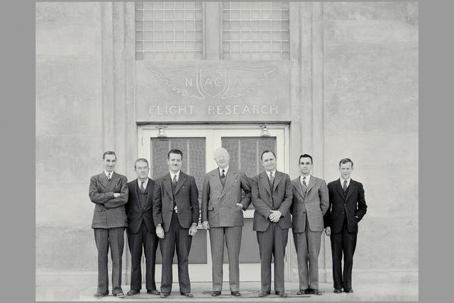 High-ranking NACA men looking serious
