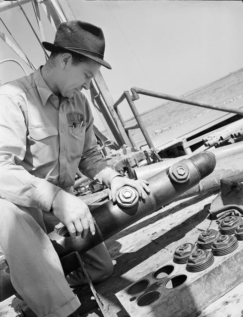 Lane Wells [sic], perforating gun