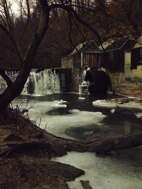 Old water mill near Philadelphia, Pennsylvania