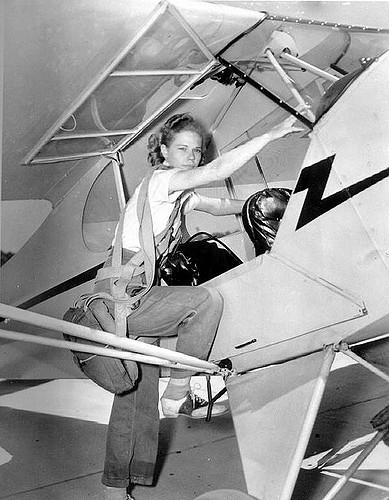 Student pilot Jean McRae of Homosassa: Tallahassee, Florida