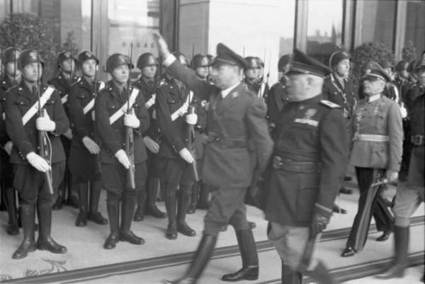 Mussolini Pavelic Patti di Roma 1941