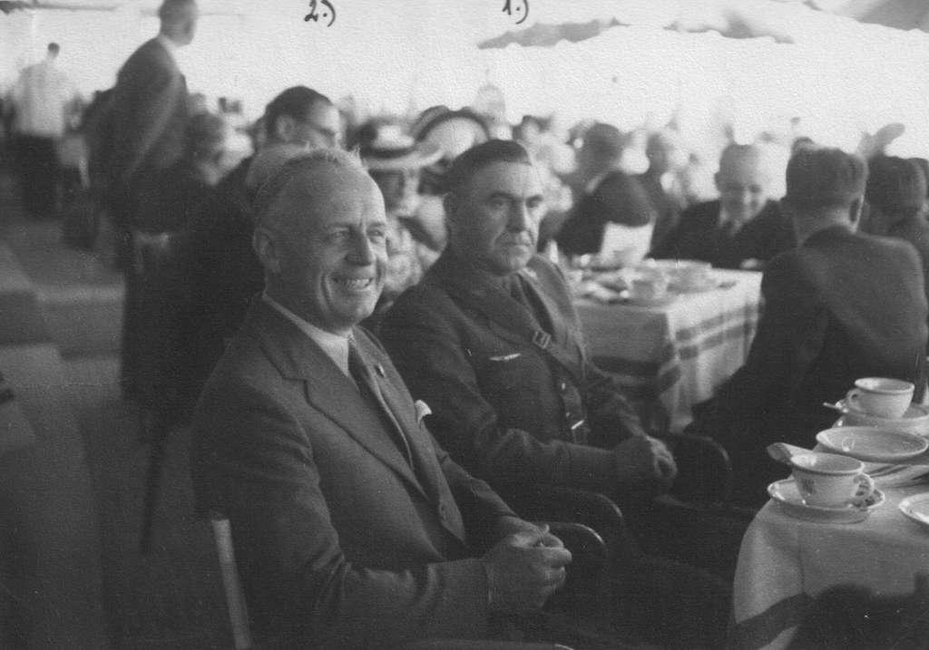 Joachim von Ribbentrop and Ante Pavelić