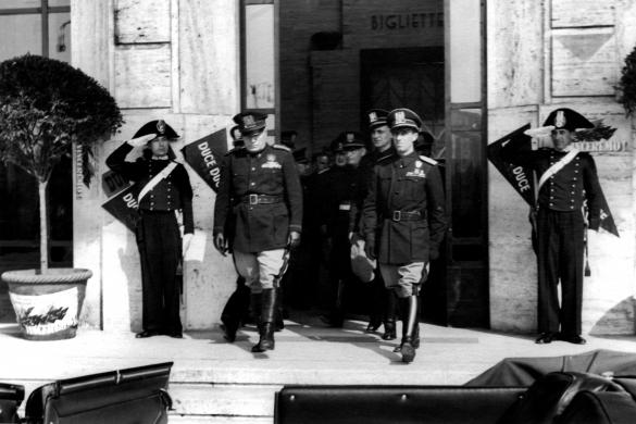 Mussolini Salsomaggiore Terme 1941