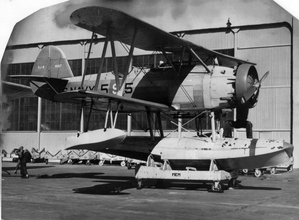Berliner-Joyce OJ-2, 9197, VS-5, USS Memphis at NAS San Diego