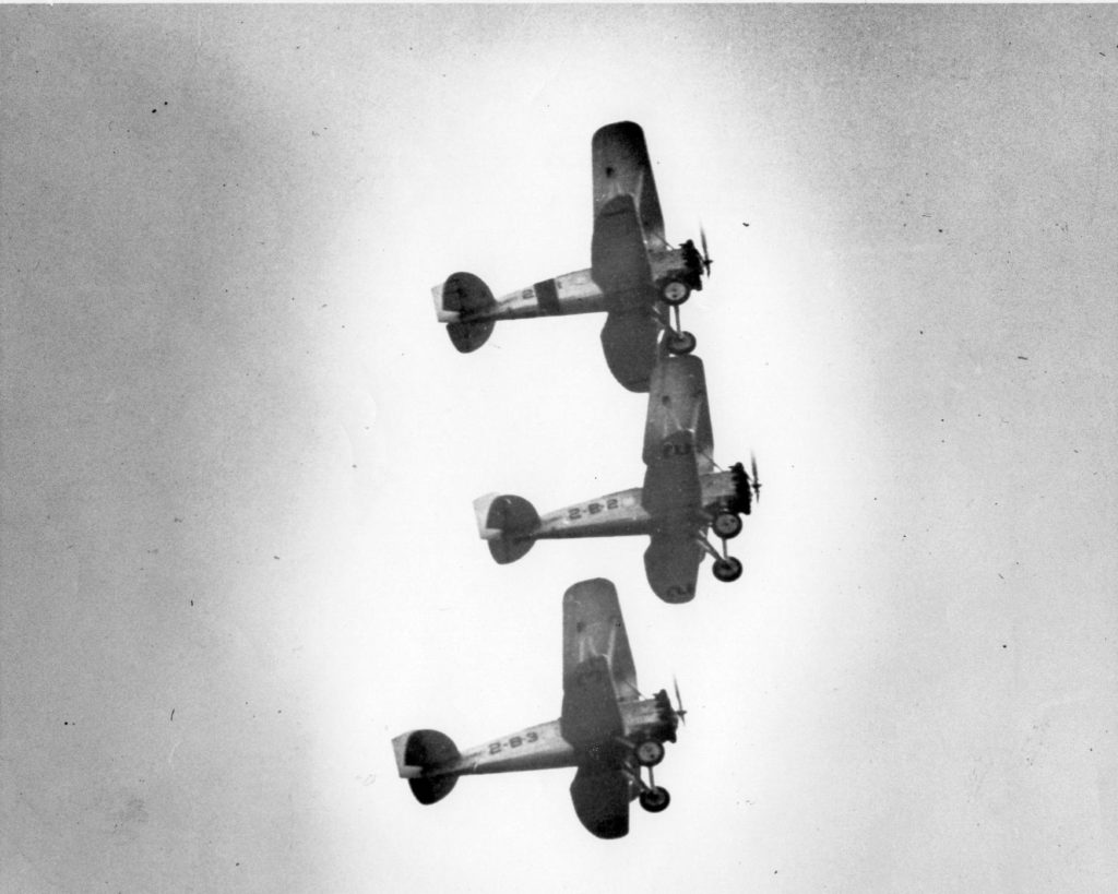 Boeing F2B-1, VB-2B, Mines Fld, 1928