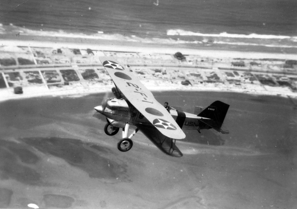 Curtiss F6C-1, A-6969, VF-2, NAS San Diego, c1927
