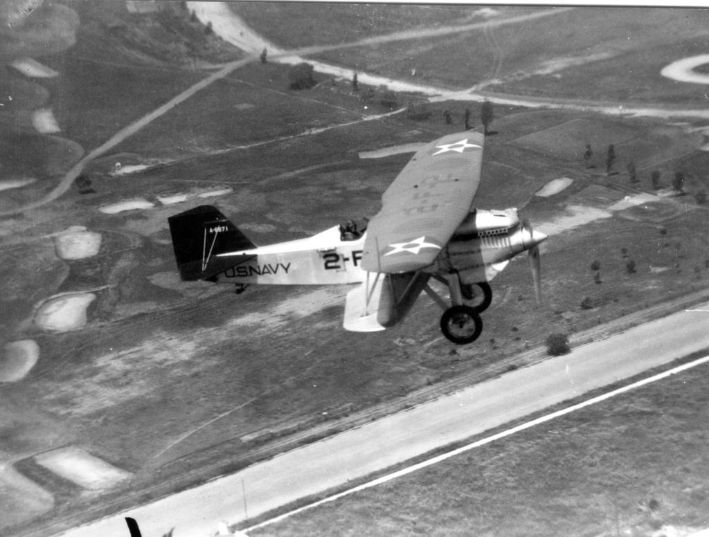 Curtiss F6C-1, A-6971, VF-2, NAS San Diego, c1927