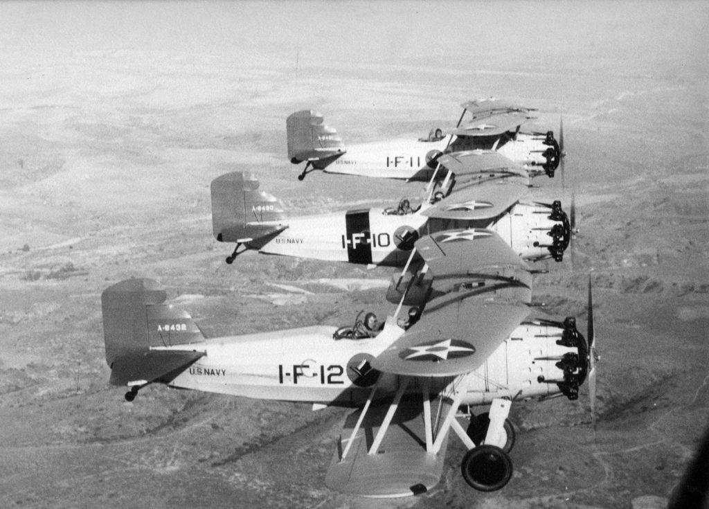 Curtiss F8C-4 Helldiver