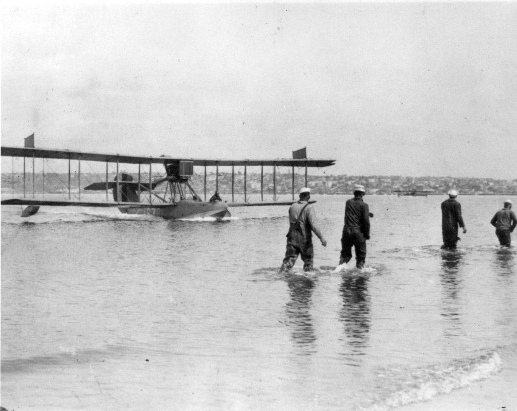 Curtiss HS-2, A-1822, NAS San Diego, 1918