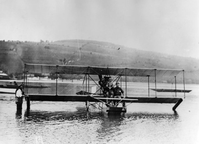 Curtiss Triad at Hammondsport
