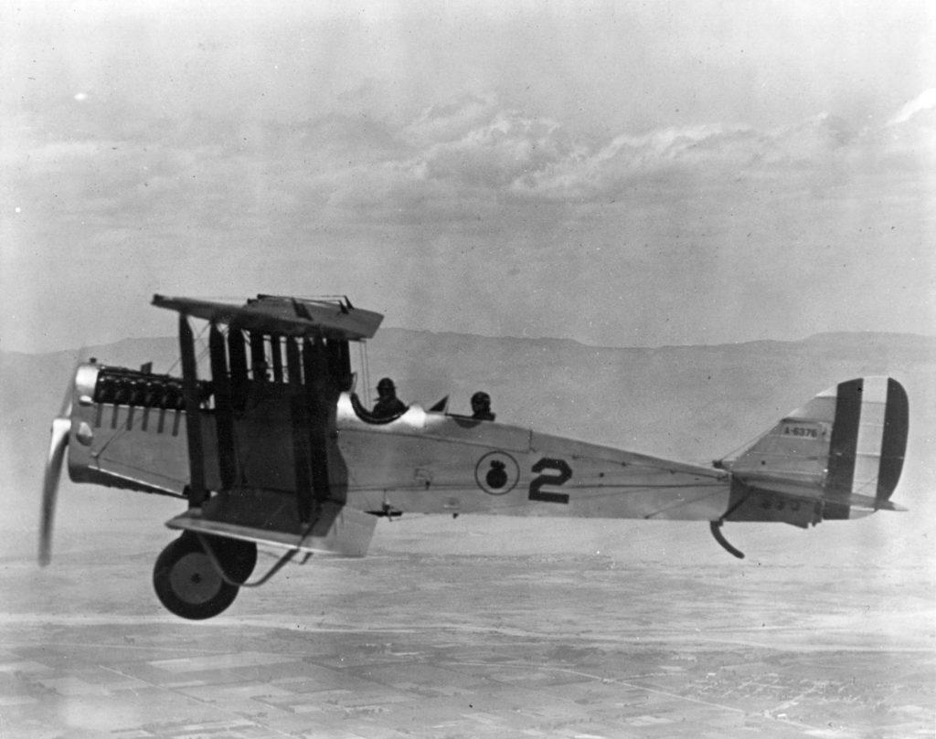 DeHavilland DH-4B, A-6376, NAS SD, c25