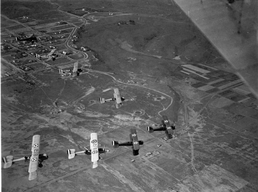 DeHavilland DH-4B, Observation Sqd Two, San Diego 2