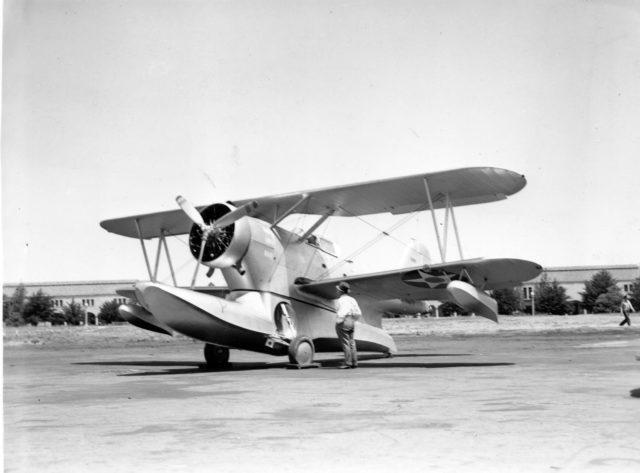 Grumman J2F-1, NAS San Diego