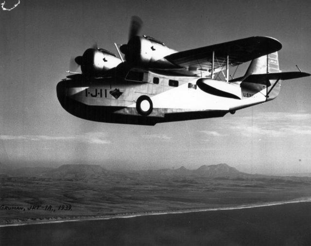 Grumman JRF-1A, VJ-1, NAS San Diego, 1939