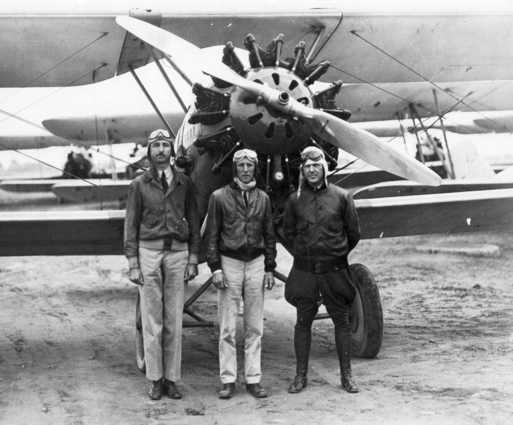 Harry Campman, Bill Masik, Doc Watson l-r, c1928 00542