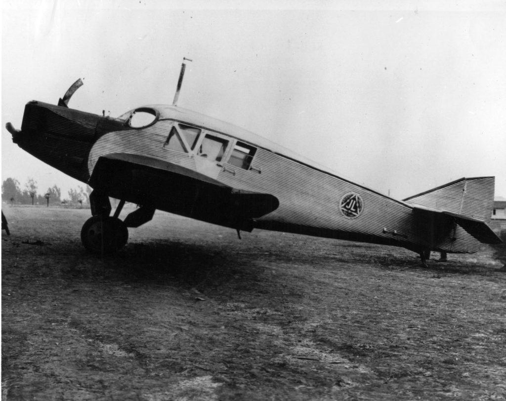 Junkers F13, visiting NAS NI 705