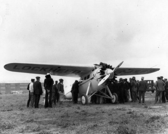 Lockheed Vega, NX4769, Yankee Doodle, NAS NI, 1928 640