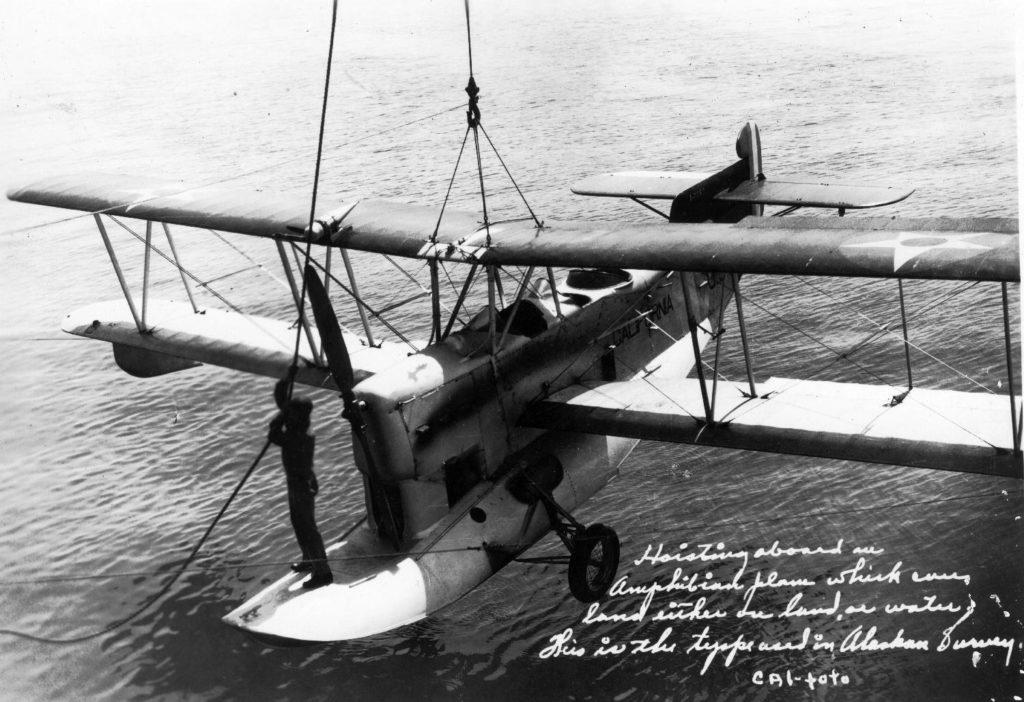 Loening OL-4, A-7060, USS California