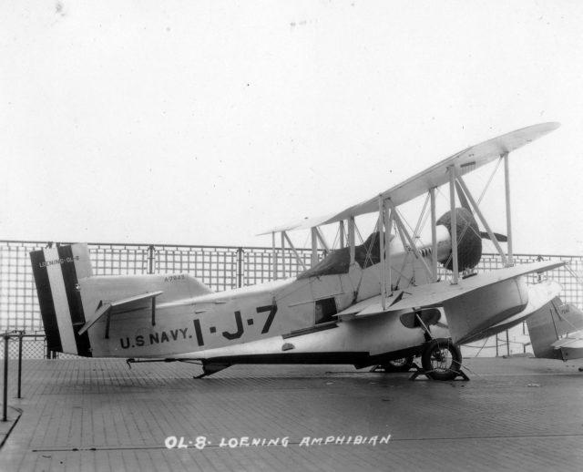 Loening OL-8, A-7845, VJ-1F