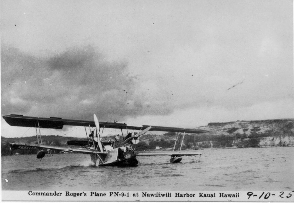 Naval Aircraft Factory PN-9, A-6878, Kauai HI, 10Sep25 2