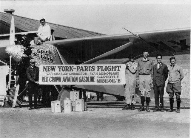 Ryan NYP, Rockwell Field, 1927
