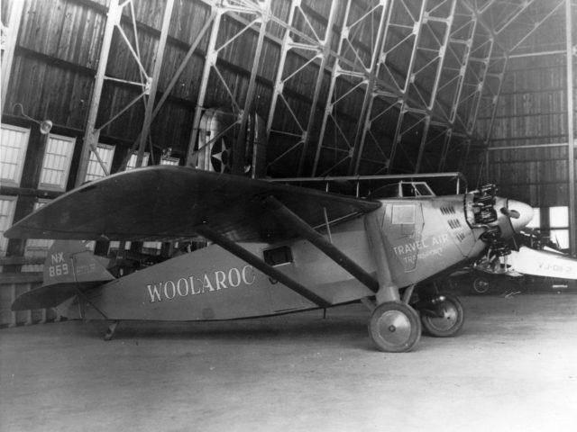 Travel Air Woolaroc, NAS NI 1927 00046