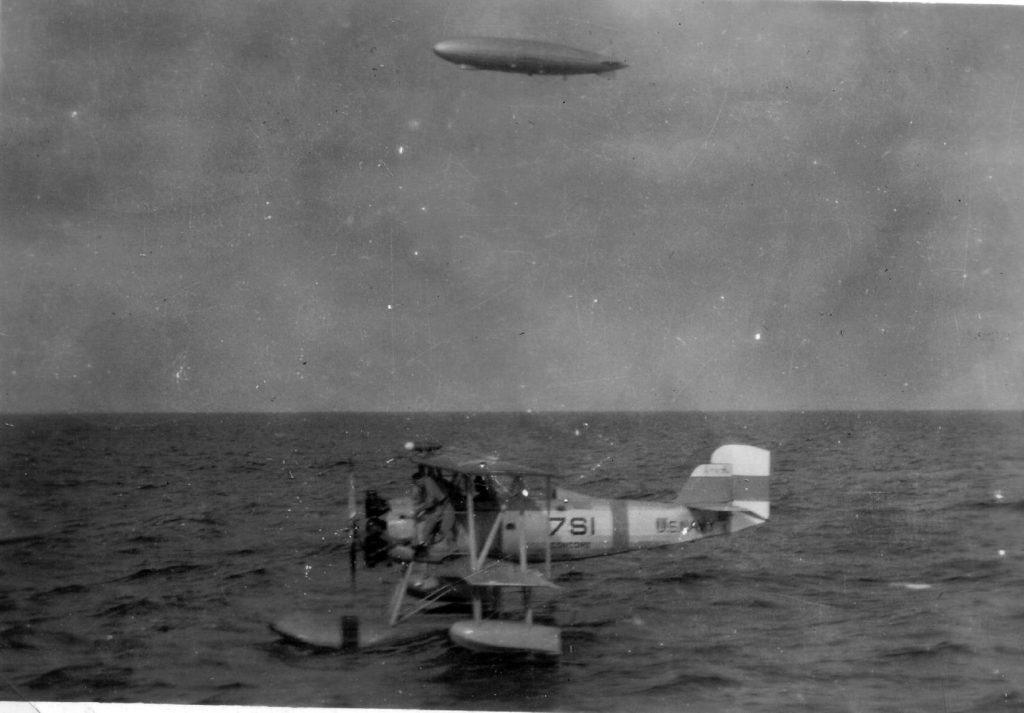 Vought O2U-2, VS-7, USS Concord