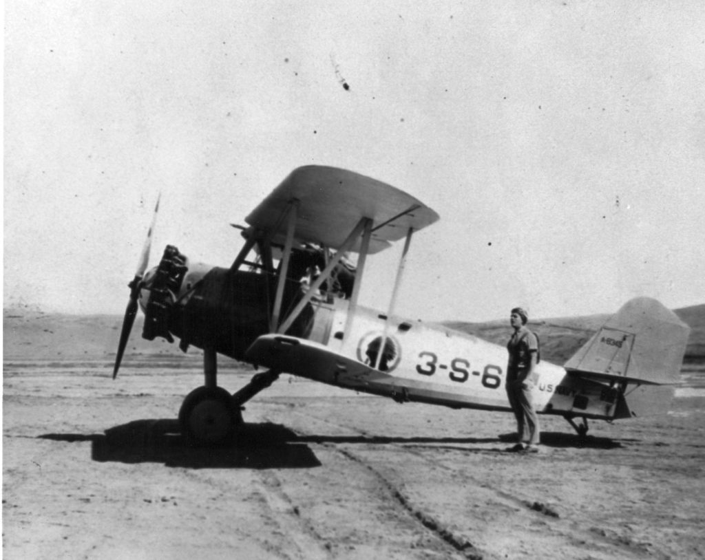 Vought O2U-4, A-8345, VS-3B, Lt. Joe Taylor 708