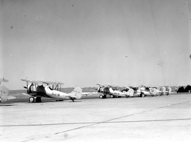 Vought SU-2, 9084, VJ-5, NAS San Diego, c 1939
