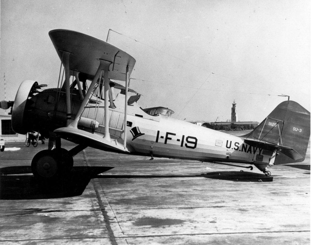 Vought SU-3, 9123, VF-1, NAS NI, Jan34 730