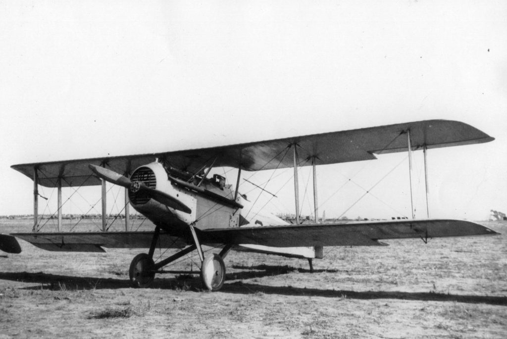 Vought VE-7, VF-2 from NAS NI at Mines Fld dedication, 1920 723