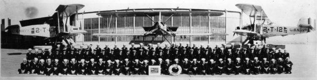VT-2, officers and men at NAS SD 582