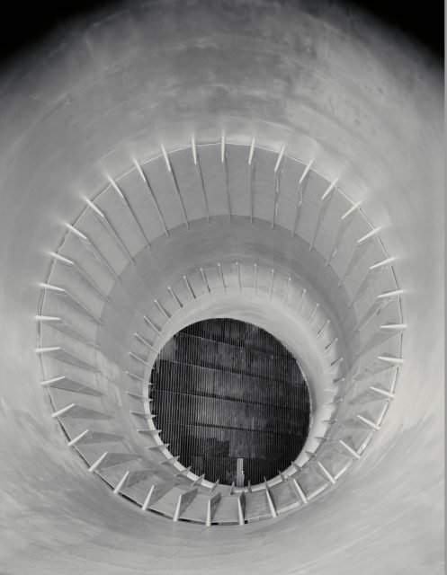 NACA Photographer - 16ft High Speed Wind Tunnel downstream view through cooling tower section ARC-1942-AAL-1854