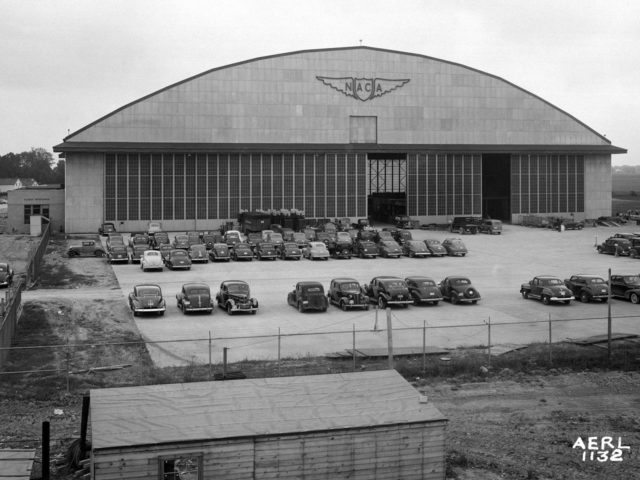 Flight Research Building at the Aircraft Engine Research Laboratory