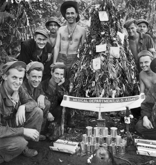 Christmas at Buna, Papua, 1942