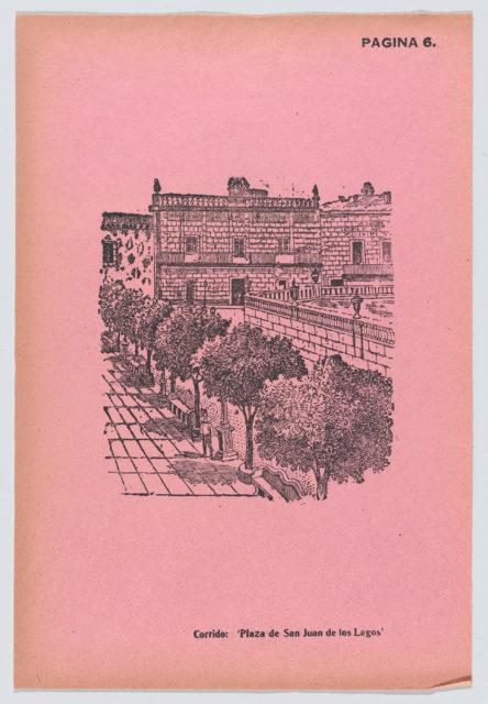 Page 6: the Plaza of San Juan de los Lagos, from '36 Grabados' (Mexico, 1943)