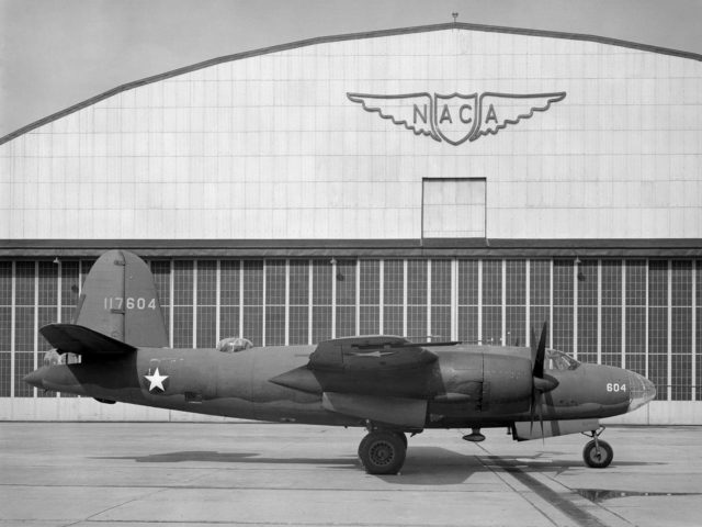 Martin B–26 Marauder at the Aircraft Engine Research Laboratory